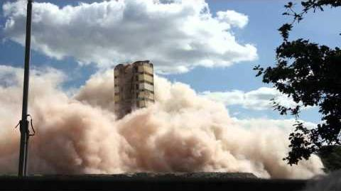 (Failed) demolition of the Philips VH Building, Eindhoven