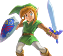 Personajes de The Legend of Zelda: A Link Between Worlds