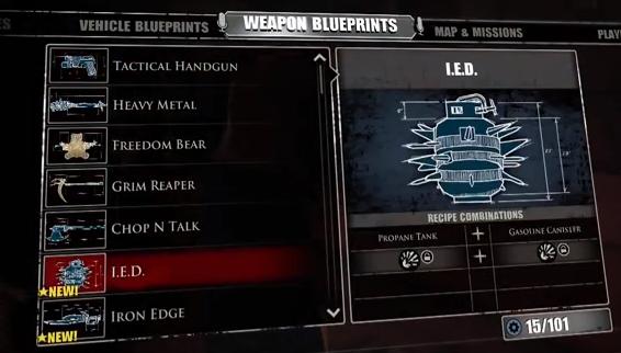 dead rising 3 weapon list - photo #31