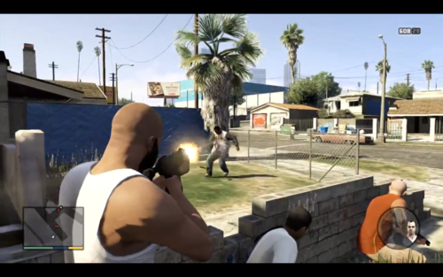 500px-Franklin vs Ballas de Grove  pngGta San Andreas Ballas Vs Grove Street