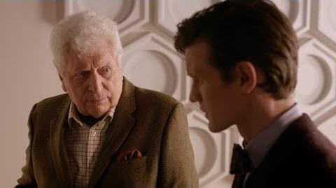 Tom Baker & Matt Smith
