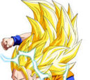 Goku Super Saiyajin 3 vs Cell Super perfecto