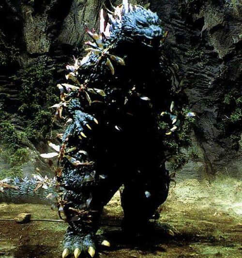 500px-Godzilla vs  Megaguirus - Godzilla is swarmed by Meganula jpgGodzilla 2000 Vs Megaguirus