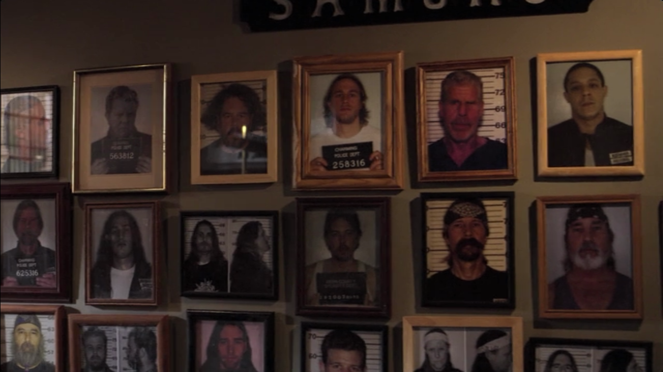 writings on the wall sons of anarchy