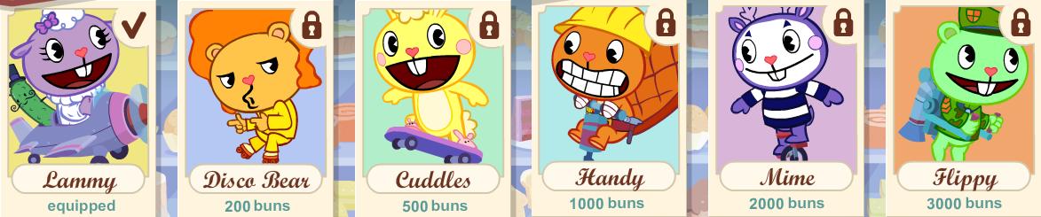 juego de happy tree friends: