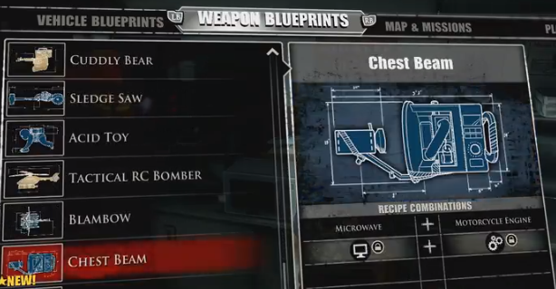 Laser sword blueprint dead rising 4 dead rising 3 laser sword chest beam dead rising wiki malvernweather Images