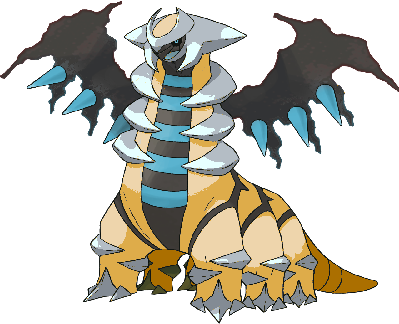 Full resolution ‎ (1,277 × 1,035 pixels, file size: 461 KB, MIME ... Shiny Giratina Altered Form