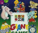 ABC for Kids Giant Games Book