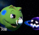 Planet Pac Versus the Ghosteroid