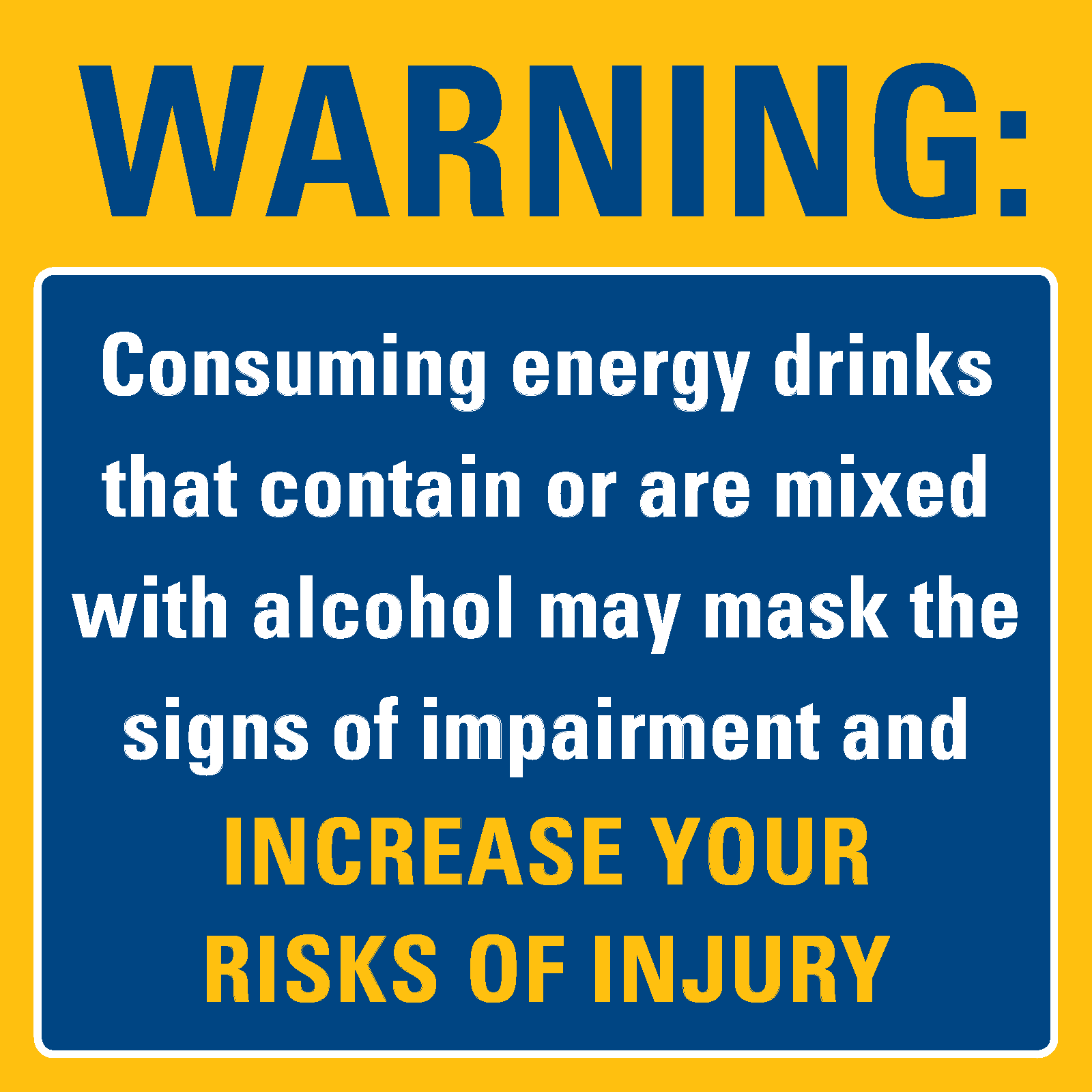 Alcohol and energy drinks a literature