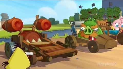 Angry Birds Go! (мультфильм-трейлер)