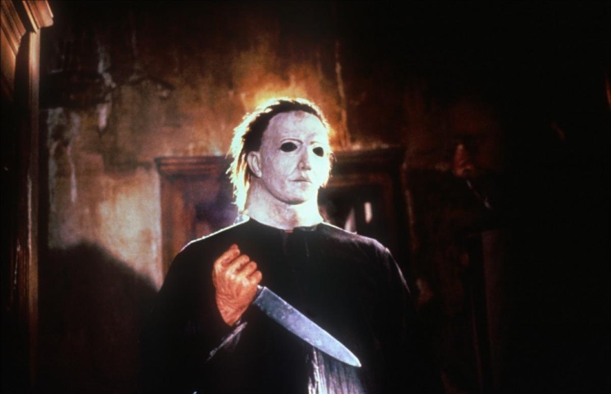 Michael Myers Unmasked Halloween 5