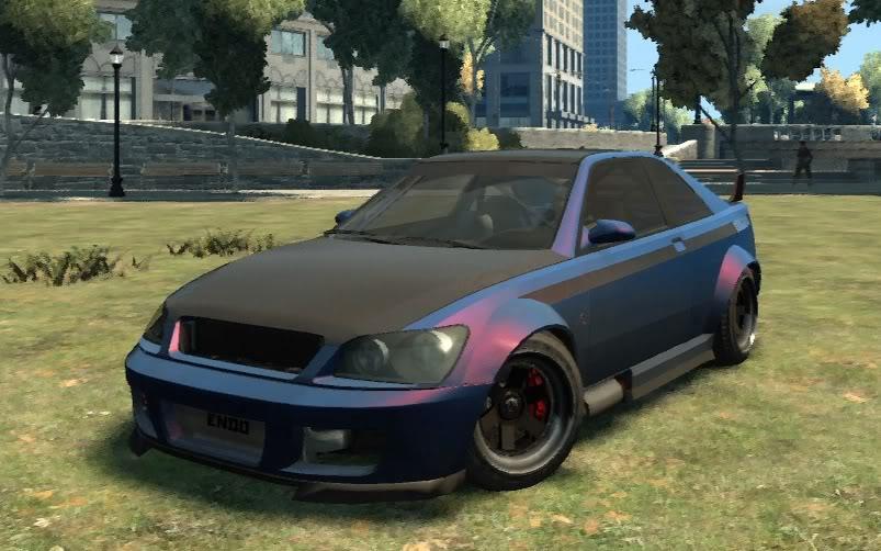 voiture gta 4