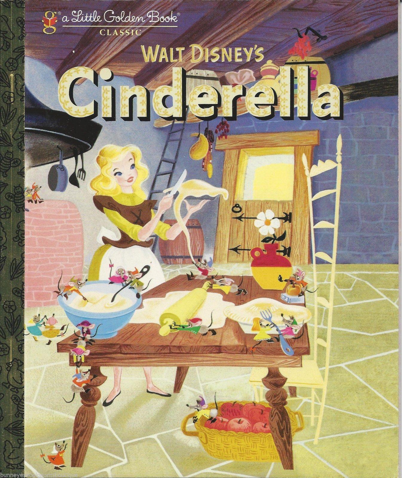 Golden Cinderella Cinderella Little Golden Book