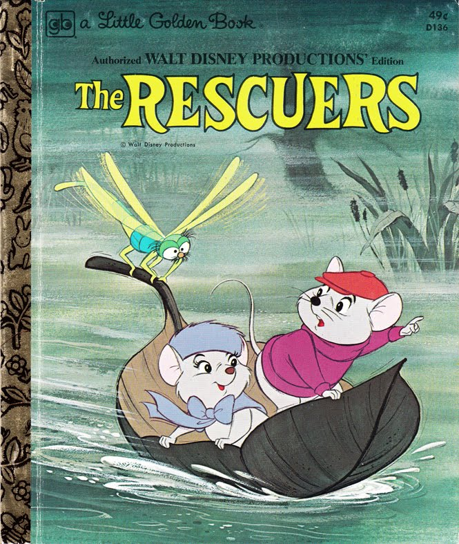 The Rescuers Little Golden Book Disney Wiki
