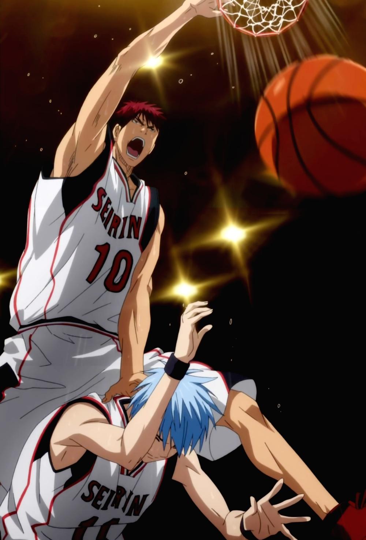 Image - Kagami dunks.png - Kuroko no Basuke Wiki - The ...