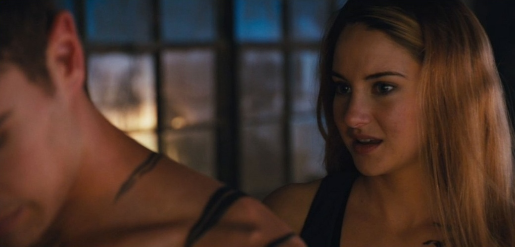 Image - Shailene-woodley-theo-james-kiss-in-new-divergent ... Kate Winslet Wiki