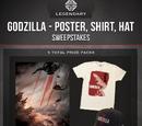 Titanollante/Godzilla Sweepstakes!