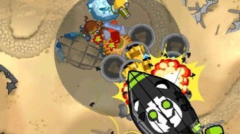 Bloons Monkey City Level 21 MOAB Graveyard Special Mission - NLL