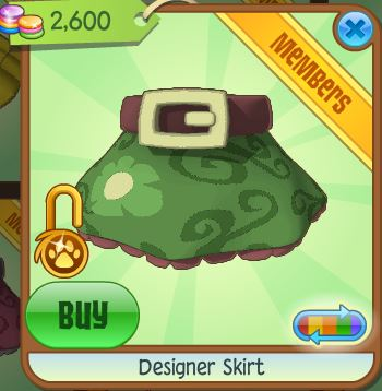 Image designer skirt green jpg animal jam wiki