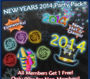 New Years 2014 Party Pack