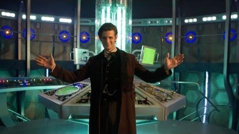 DOCTOR WHO - Inside NEW TARDIS! Christmas 2012 BBC AMERICA