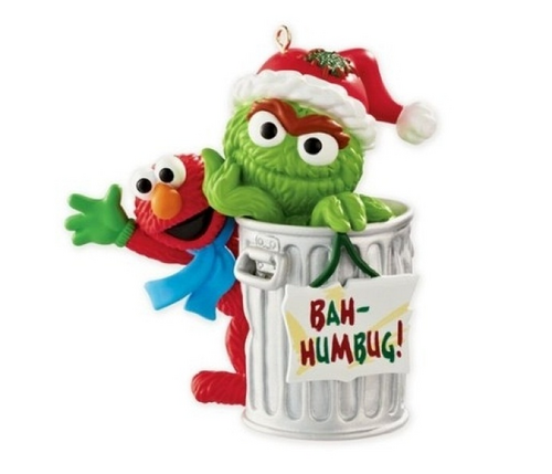 Sesame Street Christmas Ornaments (American Greetings