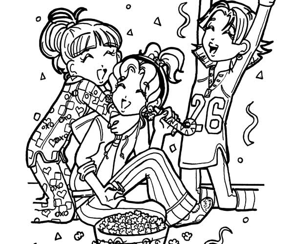 Dorkdiaries free colouring pages for Dork diaries coloring pages online