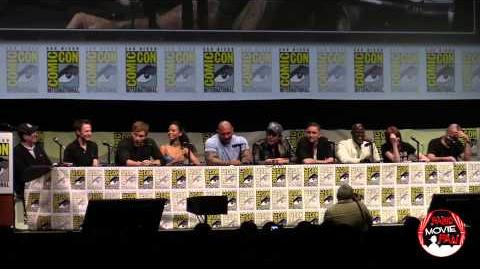 Guardians Of The Galaxy panel SDCC 2013