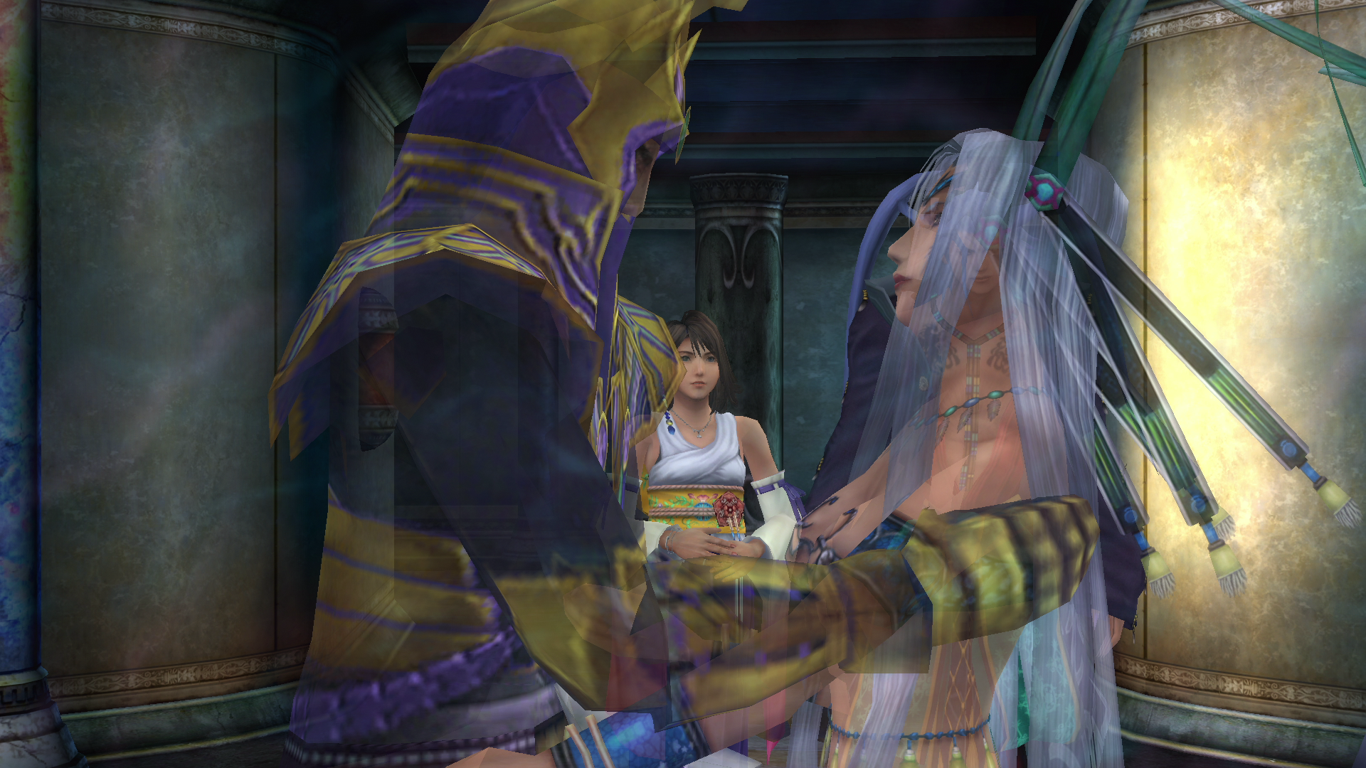 how to return to temples ffx