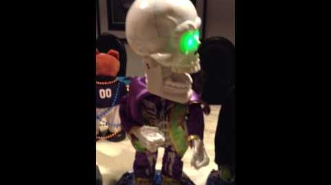 Gemmy Freaky Geeks Skeleton (RARE!) (RE UPLOAD)