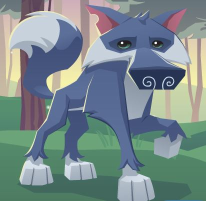 how to draw animal jam wolf