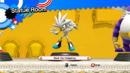 Silver the Hedehog statue.png