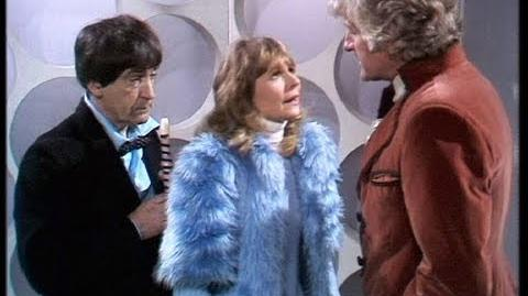 The Second Doctor meets the Third Doctor - The Three Doctors - Doctor Who - BBC