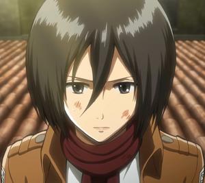 Shingeki no Kyojin. 300px-Mikasa_Ackerman_Anime