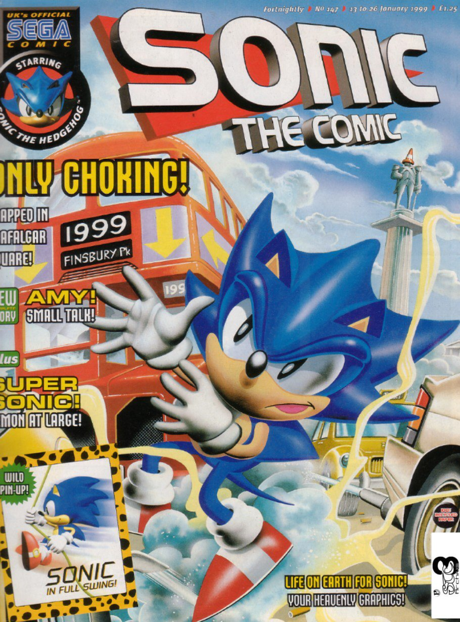 Sonic The Comic Issue 147 Sonic News Network The Sonic Wiki