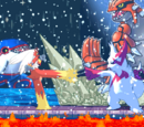 Groudon, Kyogre, and Rayquaza Battle