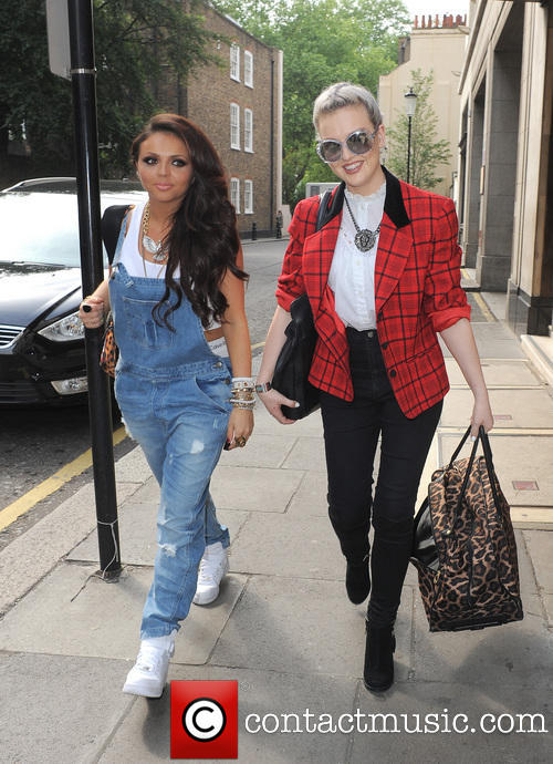 Image Jesy Nelson Perrie Edwards Celebrities Outside The