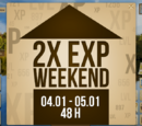 Piotrekkk/2xExp Weekend 4-5.01.2014