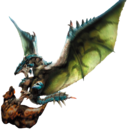 MH4-Azure Rathalos and Slagtoth Render 001.png