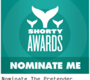 Miss Parker/Shorty Awards Nominations for tP cast/crew