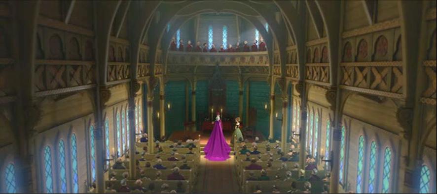Arendelle Chapel Disney Wiki