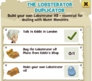 The Lobsterator Duplicator