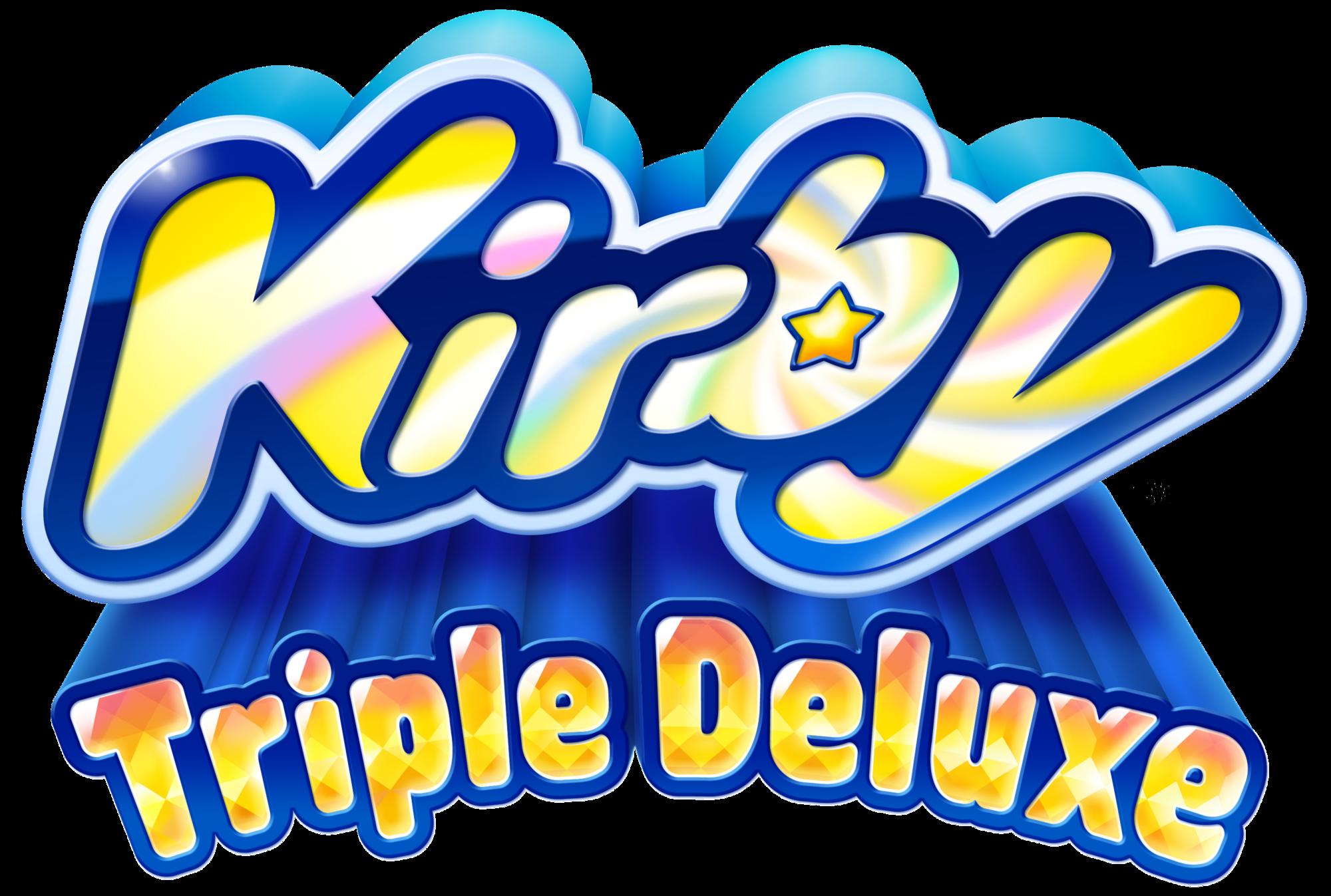 Kirby Triple Deluxe KTD_logo