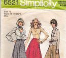 Simplicity 6521 B
