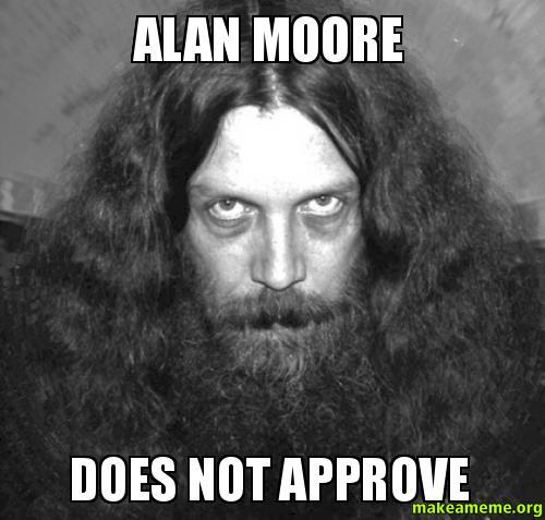 alan moore writing advice jk