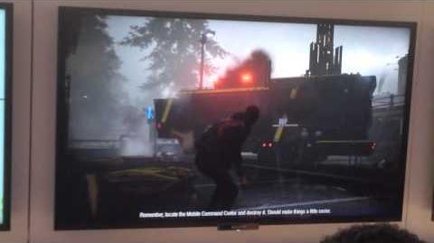 BeyondJodie88/InFamous: Second Son – Abgefilmte Gameplay-Videos von der CES 2014