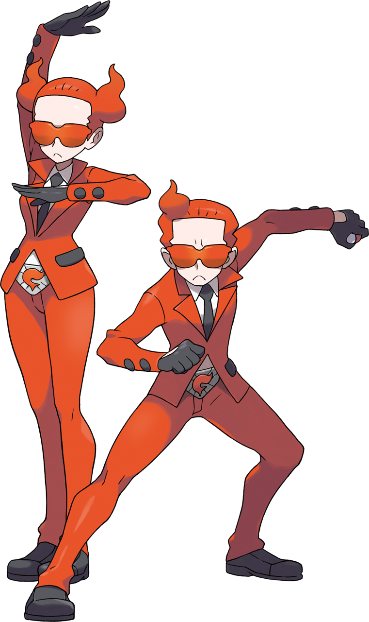 Flare Grunt a Team Flare Grunt is a Type
