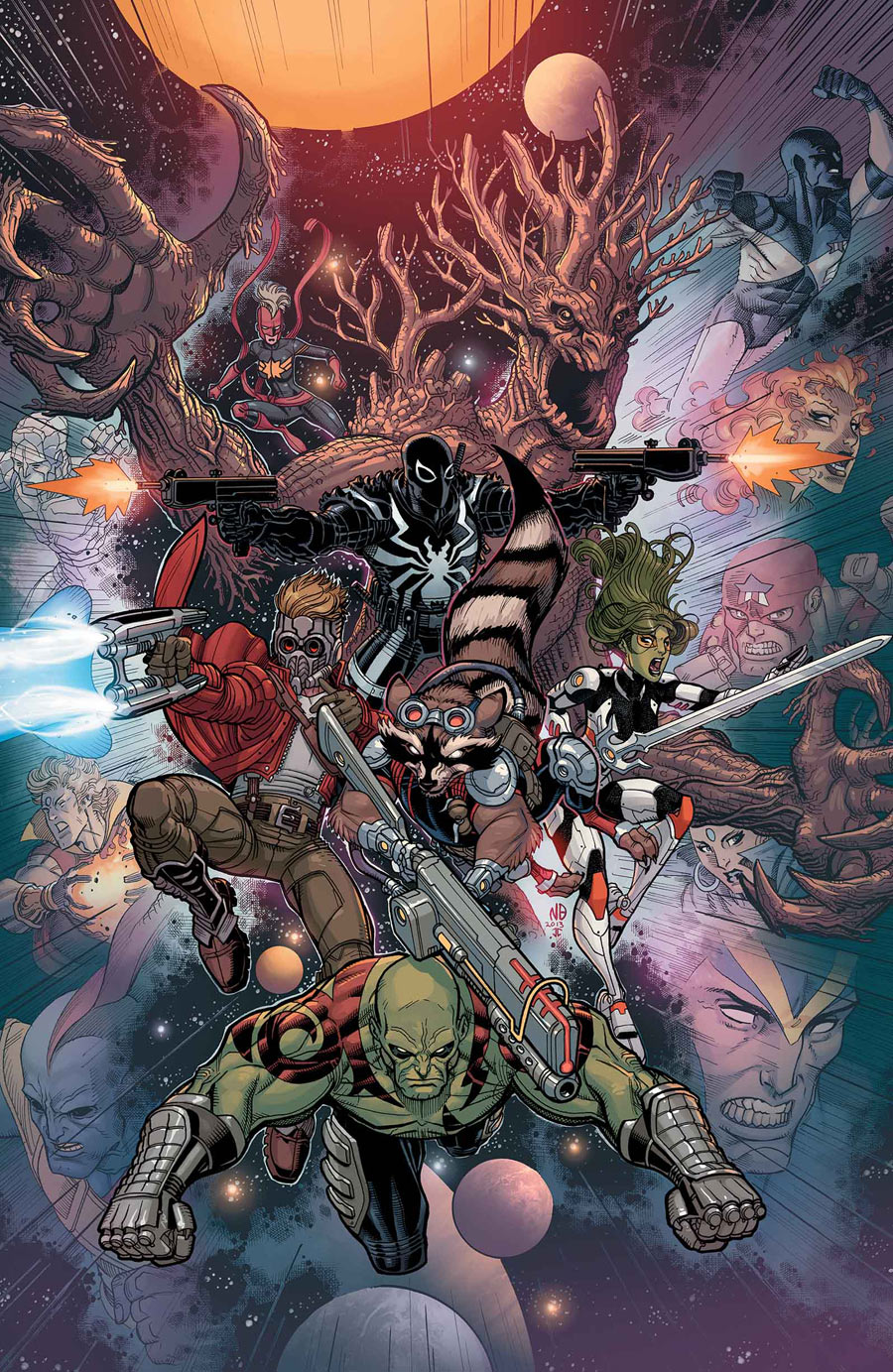 Guardians of the galaxy earth 616 marvel database wikia