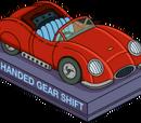 Left-handed Roadster